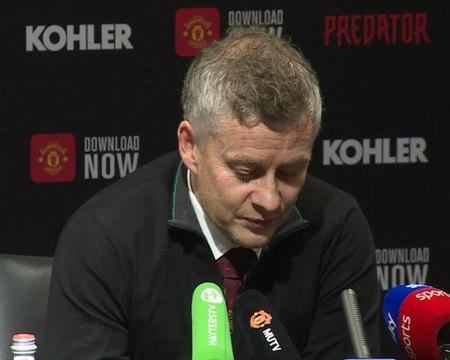 """29e j. - Solskjaer : """"Je n'ai pas battu Pep trois fois, ce sont mes joueurs qui l'ont fait"""""""