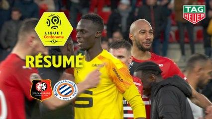 Stade Rennais FC - Montpellier Hérault SC (5-0)  - Résumé - (SRFC-MHSC) / 2019-20