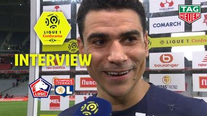 Interview de fin de match : LOSC - Olympique Lyonnais (1-0)  - Résumé - (LOSC-OL) / 2019-20