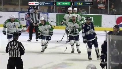Game Recap - Worcester Railers at Maine Mariners