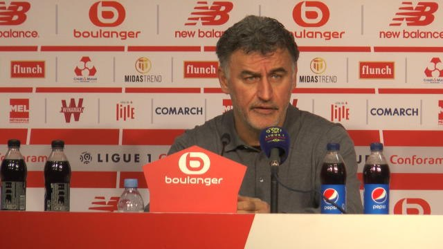 """FOOTBALL: Ligue 1: 28e j. - Galtier : """"Fier de mes joueurs"""""""