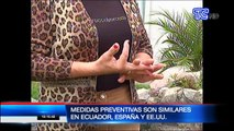 VIDEO   Medidas preventivas son similares en Ecuador, España y Estados Unidos