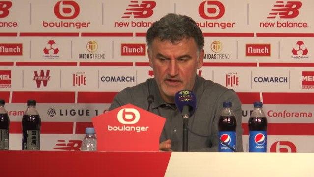 """28e j. - Galtier : """"L'OM est trop loin de nous, mais avec l'OL, tout peut arriver pour remonter sur Rennes"""""""