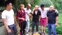 Giao Lưu Anh Em Team Sơn Dược Vlogs - Riview Món Mỡ Đặc Sản