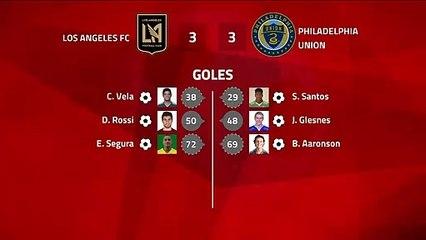 Resumen partido entre Los Angeles FC y Philadelphia Union Jornada 3 MLS - Liga USA