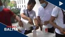 Cainta LGU, puspusan ang isinasagawang disinfection sa mga paaralan at pampublikong lugar