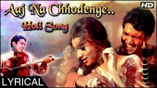 Aaj Na Chhodenge Bas Humjoli Khelenge Hum Holi | Holi Song | Kati Patang | Rajesh Khanna Asha Parekh