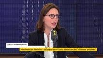 """Intervention des forces de l'ordre lors d'une marche féministe samedi à Paris : Amélie de Montchalin demande """"des éclaircissements"""""""
