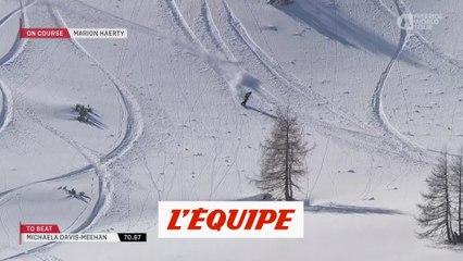 le run gagnant de Marion Haerty en Autriche - Adrénaline - Snowboard freeride