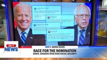 Biden and Sanders trade barbs on Twitter