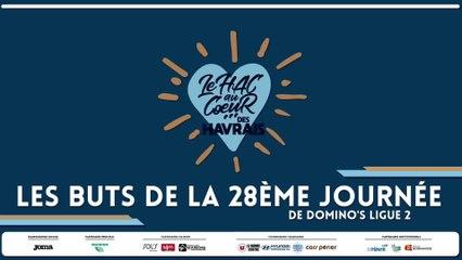 Les buts de la 28ème journée de Domino's Ligue 2
