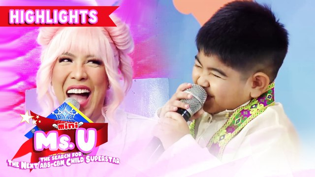 Yorme has a pick-up line for Vice about pillow | It's Showtime Mini Miss U