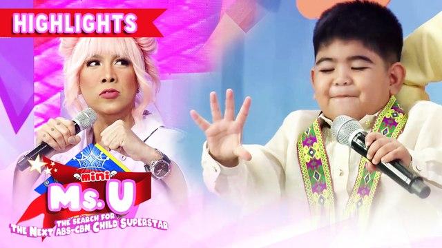 Yorme reveals the name of his foe | It's Showtime Mini Miss U