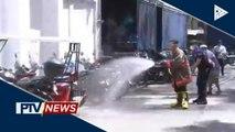 Cainta LGU, puspusan ang disinfection sa mga paaralan at pampublikong lugar
