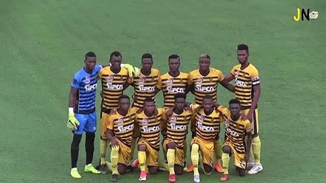 Ligue 1 J20 SC Gagnoa - ASEC Mimosas (Résumé)