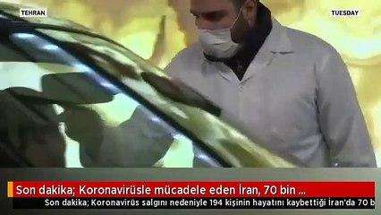 Son dakika Koronavirüsle mücadele eden İran, 70 bin hükümlüyü serbest bırakacak