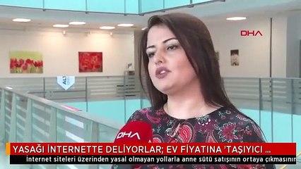 YASAĞI İNTERNETTE DELİYORLAR; EV FİYATINA 'TAŞIYICI ANNELİK'