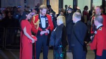 Meghan Markle and Prince Harry Master Matching Couple's Style in All-Red