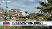 'We are afraid': Residents in Greek village divided over hosting migrants
