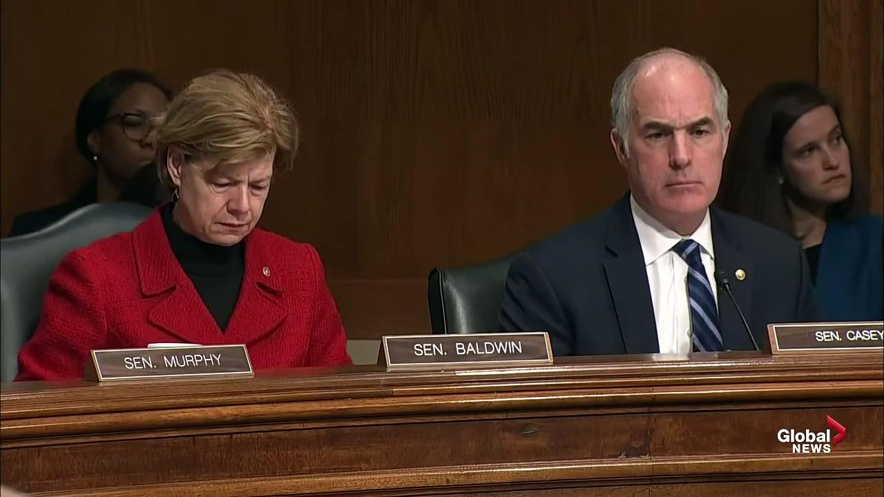 Coronavirus outbreak- Health and medical experts testify before Senate Health Committee