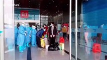 Wuhan suspends 11 makeshift hospitals as number of coronavirus patients continuously drops