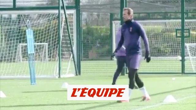 Kane de retour à l'entraînement - Foot - ANG - Tottenham