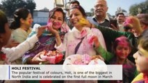 Thousands celebrate Holi Festival in India and Nepal