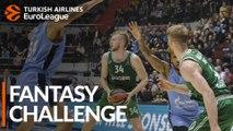 Turkish Airlines EuroLeague Regular Season Round 29: Fantasy Challenge