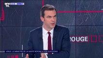 """Olivier Véran: """"Derrière toute décision que nous prenons, il y a des blouses blanches"""""""