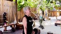 Mamie fait de la musculation à 73 ans et ça rigole pas !