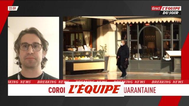 Pauluzzi «L'Italie entière est une zone protégée» - Tous sports - ITA - Coronavirus