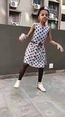 Girl dance performance