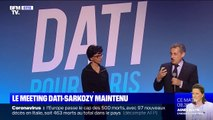 Municipales 2020: Rachida Dati soutenue par Nicolas Sarkozy