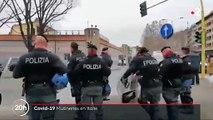 Virus - Les mutineries se multiplient dans les prisons italiennes alors que les détenus craignent le coronavirus et dénoncent la suppression des parloirs