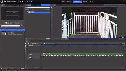 Vegas Pro 59 Rolling Shutter Correction in HitFilm