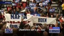 Joe Biden Urges Crowd To Let 'Bernie Bro' Protesters Go After Michigan Rally Interruption: 'This Isn't A Trump Rally'