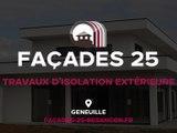 Façades 25 – Ravalement de façades et isolation extérieure à Besançon.