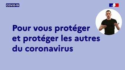 Spot TV : Connaître les gestes barrières pour se protéger et protéger ses proches du virus.