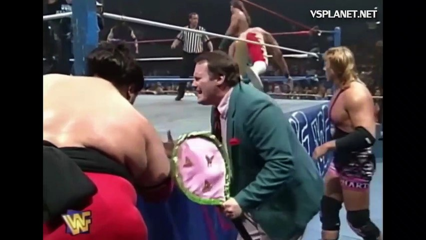 Undertaker, Shawn Michaels, Diesel vs Yokozuna, Owen Hart, British Bulldog, RAW 9.10.1995