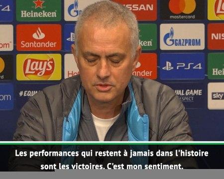 """8es - Mourinho : """"J'ai gagné dans tous les clubs, et je crois que je vais le faire aussi avec Tottenham"""""""