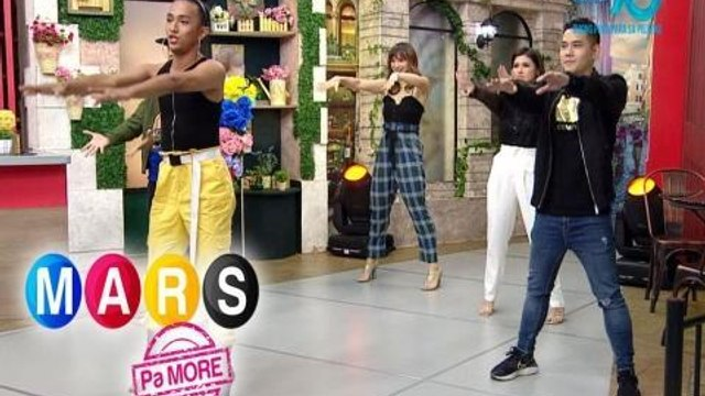 Mars Pa More: 'Don't Start Now' dance moves with Mico Aytona and Duncan Ramos   Push Mo Mars