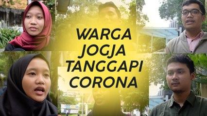 Tetap Tenang dan Waspada, Jurus Anak Muda Jogja Tanggapi Masalah Corona