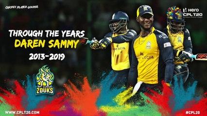 DAREN SAMMY | THROUGH THE YEARS | #CPL20 #CricketPlayedLouder #ThroughTheYears