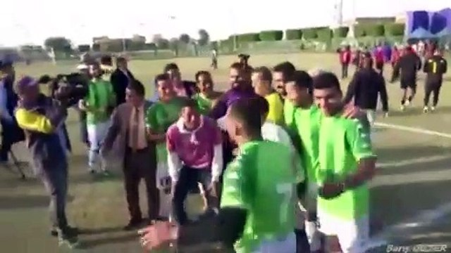 A 75 ans, Ezzeldin Bahader joue et marque en D3 égyptienne