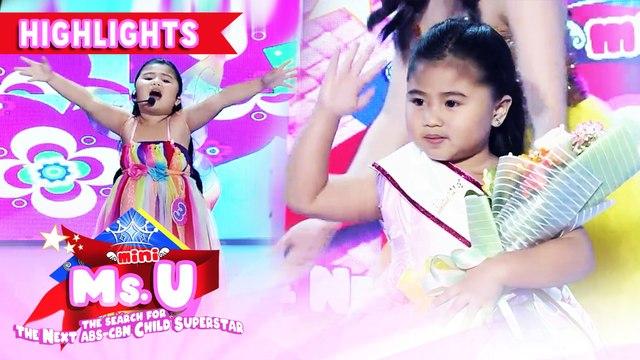 Fryah Maxeen Padilla emerges as Mini Ms. U of the day | It's Showtime Mini Miss U