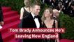 Tom Brady Leaves New England