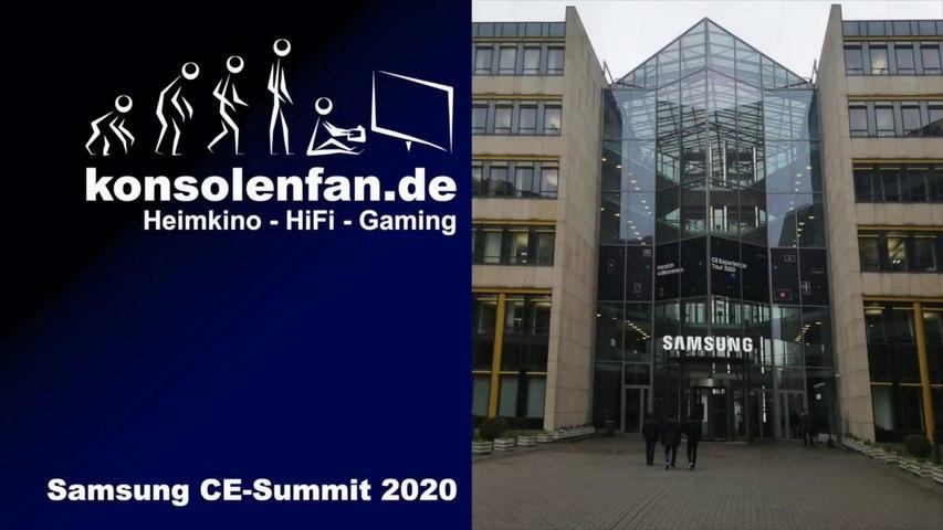 Konsolenfan unterwegs: Samsung CE Summit 2020