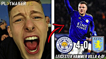 Reactions | Leicester 4-0 Aston Villa: Vardy and Foxes return to form