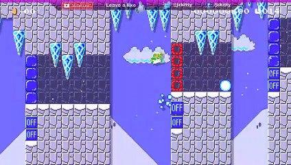 LET'S PLAY SUPER MARIO MAKER 2 - SNOWBALL KICKING SPEEDRUN LEVEL