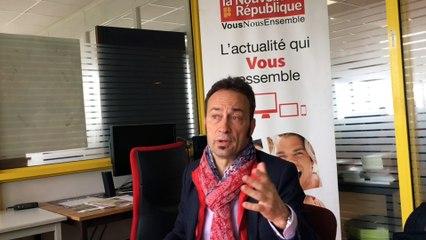 """Claude Bourdin  veut incarner la """" vraie gauche """""""